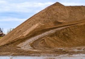Sand, gesiebt