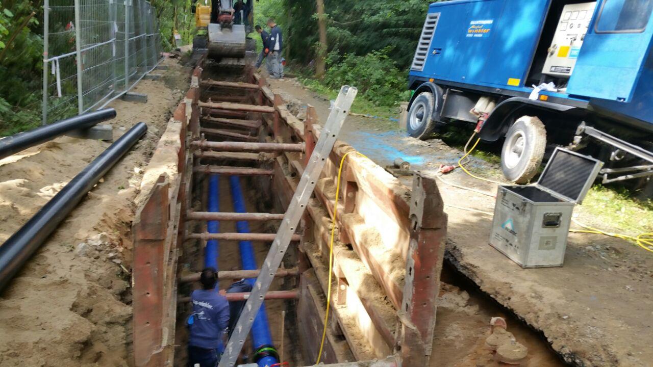 Wasserleitungsbau 1